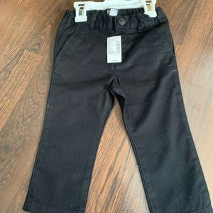 Children's Place Boys Black Pants